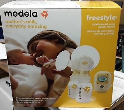Medela Freestyle Mobile Breastpump Set - 101034712, Like New