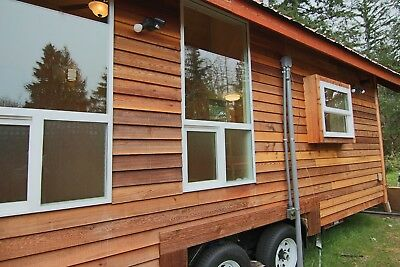 Tiny house Craftsman Built on PJ Trailer with wheels 14' hight 8'wide 240 sq ft