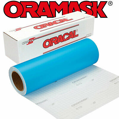 10YD ORAMASK 813 Paint Mask Stencil 3mil Adhesive Water-based Low-tack Removable
