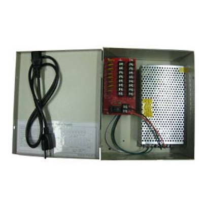 Power Supply Box 13 AMP 12V DC UL LISTED AUTO REST FUSE
