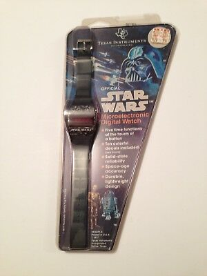 Star Wars Texas Instruments 1977 Led Watch Sealed Mint Condition