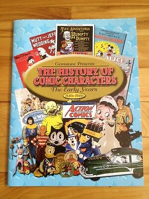 """Gemstone Presents The History Of Comic Characters""""The Early Years 1840'S-1940's"""""""