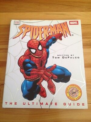 """spiderman """" the ultimate guide """" 2001 dk"""