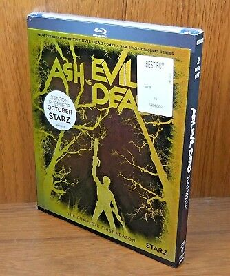 -NEW- Ash vs Evil Dead Complete First Season w/ Lenticular Slip Cover (Blu Ray)