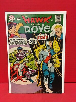 Hawk And Dove #1 DC Comics 1968 1st Series Ditko Very Gentle Bird Silver Age