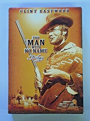 THE MAN WITH NO NAME Trilogy DVD 3 Disc Set Clint Eastwood 1999 MGM
