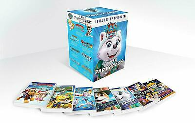 EONE PAW PATROL 7 Disc PARTY PACK DVD Gift Box Set Includes 39 Episodes New