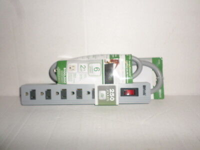 woods surge protector 250 joules 041450