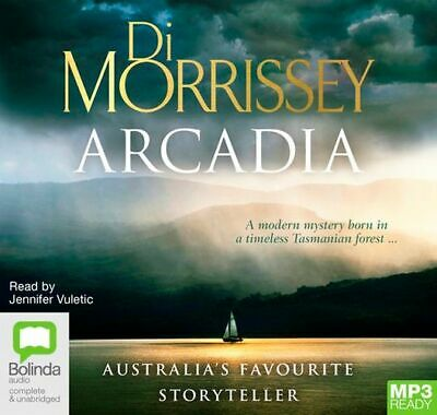 NEW Arcadia By Di Morrissey CD in MP3 Format Free Shipping