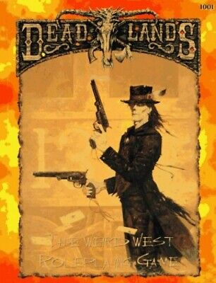 The Deadlands Roleplaying Game by Hensley, Shane Lacy Book The Cheap Fast Free