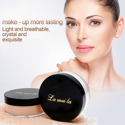 Makeup Face Loose Finishing Powder Translucent Smooth Setting Foundation 3 Color