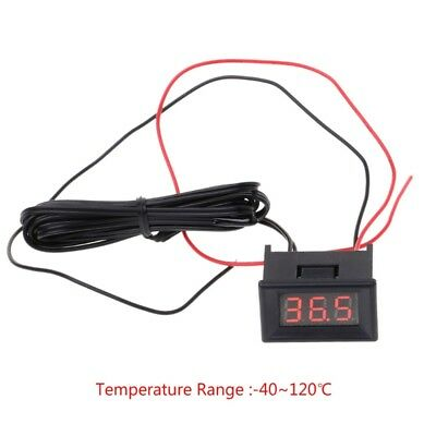 -40~120C Degree LED Digital Thermometer Car Probe Fridge Freezer Temperature DIY