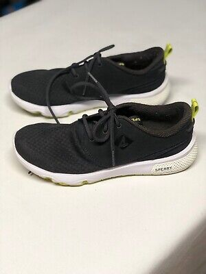 NEW Wmn/'s SPERRY Top Sider Fathom Black Boat Shoes STS99349 CHOOSE SZ