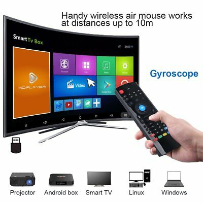 Mx3 2.4Ghz Air Mouse Wireless Keyboard Remote Control for TV-Box PC Laptop IOS