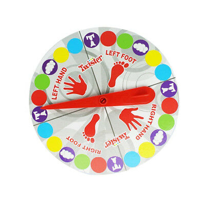 Funny Twister Classic Game Crafts Body Twist Family Party Interactive Game WRYU
