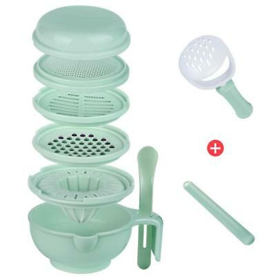 Baby Food Supplement Grinder Manual Food Fruit Grinding Bowl Complementary Tool
