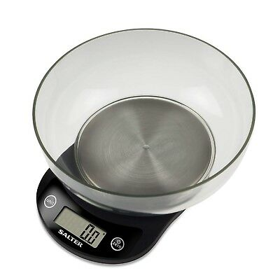 Salter Precision Kitchen Scales - High Resolution 3000g Electronic Food Weigh...