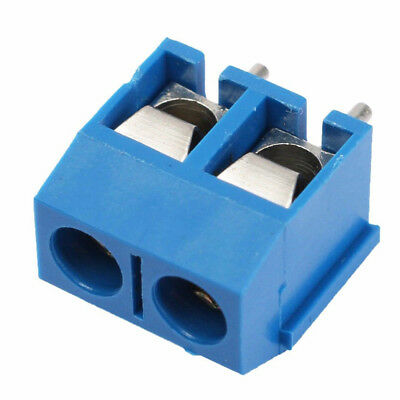 40 PCS 2-Pin 5.08mm Pitch PCB Mount Screw Terminal Block Connector For DC And AC
