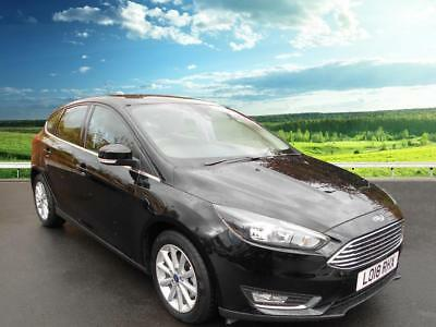 2018 Ford Focus TITANIUM Petrol black Manual