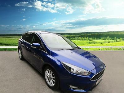 2015 Ford Focus ZETEC Petrol blue Manual