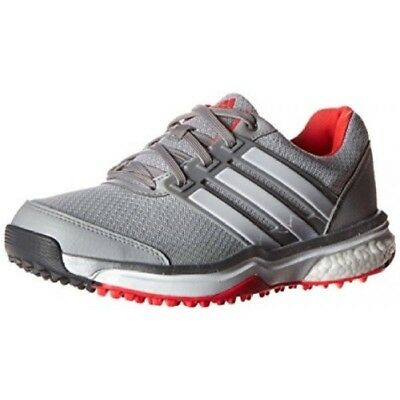 hot sale online 8ba93 a38a3 New Women s Adidas Adipower Sport Boost 2 Golf Shoes F33289 Onix White Red  Sz 6