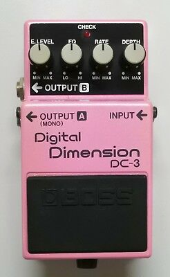 BOSS DC-3 Digital Dimension Guitar Effects Pedal 1988 made in Japan #24