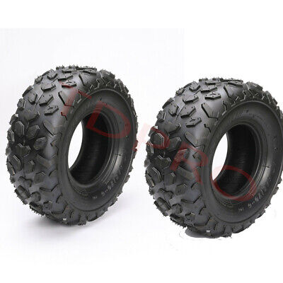 2pack  145/70 - 6 Tyre Tire Tubeless Kids 50cc 110cc Quad Bike ATV Dune Buggy