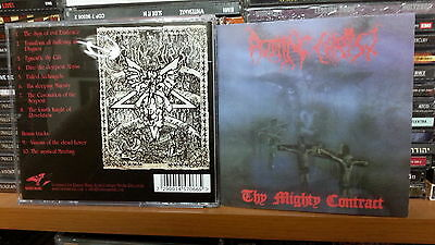 ROTTING CHRIST - THY MIGHTY CONTRACT CD NEW 2014 EDITION samael septic moonspell