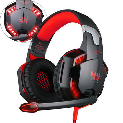 Kotion Each G9000 Gaming Headset With Mic Led Light Fr Ps4tablet
