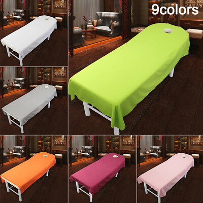 Beauty Massage Towelling Bed Table Solid Cover Salon Spa Couches Sheets Hot Sale