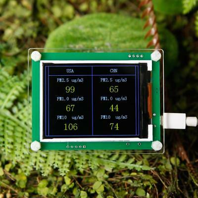 """2.8"""" LCD Carbon Dioxide CO2 + PM1.0 PM2.5 PM10 Tester+Temperature Humidity √bc◇"""