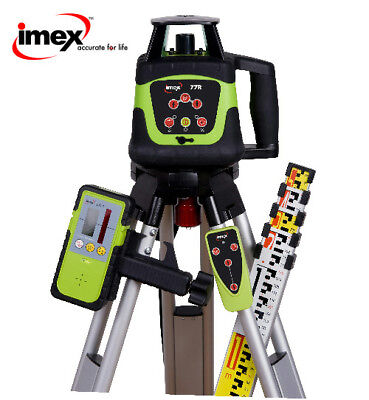 Imex 77R Rotating Laser Level Kit with Reciever