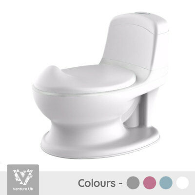 Pote Plus - My First WC Potty - White