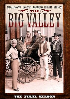 THE BIG VALLEY THE FINAL SEASON 4 FOURTH New Sealed 6 DVD Set