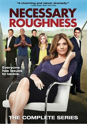 NECESSARY ROUGHNESS THE COMPLETE SERIES New Sealed 6 DVD Set Seasons 1 2 3