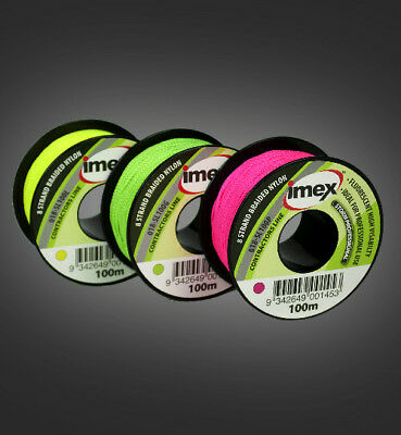 Imex SL100P 8 braded nylon string line