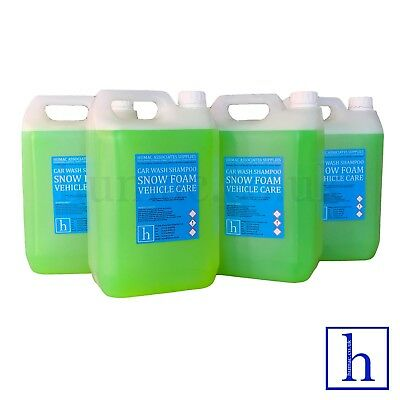 APPLE BLAST HI FOAM SNOW FOAM SHAMPOO 20 Litre Drum Car Vehicle Wash 20L HUMAC