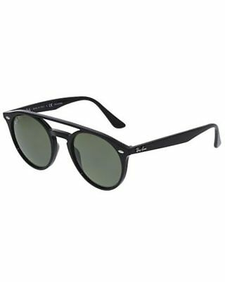 Ray-Ban Women's RB4279-601/9A-51 Black Round Sunglasses
