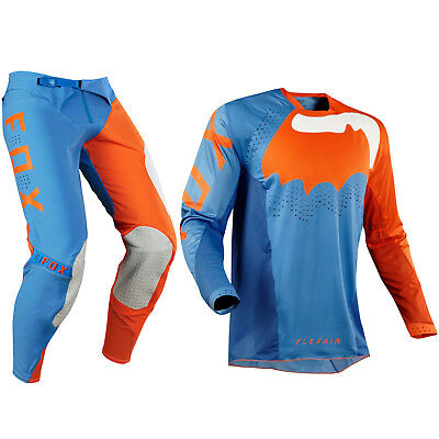 Fox Racing Flexair Motocross Mx Kit Pants Jersey - Hifeye Orange