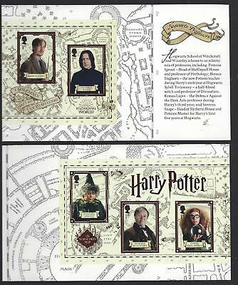 Great Britain 2018 Harry Potter Prestige Booklet 2 Panes Unmounted Mint, Mnh
