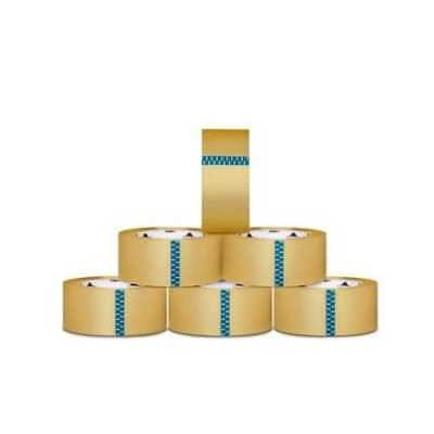 2-inch x 110 Yards Clear Packing Tape 1.9 Mil Shipping Box Tapes (72) Rolls