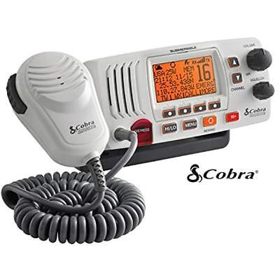 Cobra Corporation 4 MR F57W Radio Marine VHF Mr-F57W White