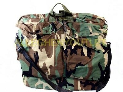 2483b126e3ae MILITARY FLYERS HELMET Shoulder Bag with Brass Zipper   Strap (19