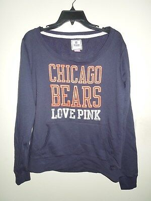 d9975e90 NFL CHICAGO BEARS 5th and Ocean Womens White Fullzip Hooded ...