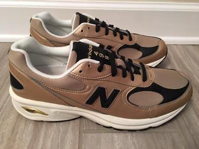 0754e775c898 NEW Mens New Balance ML498 SL Gold Leather Walking/Running Shoes! Size: 10.5