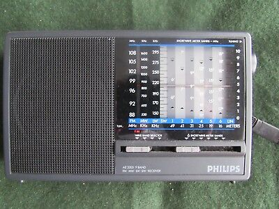 Philips AE 3205 9 band receiver radio FM/ MW/LW/SW Receiver