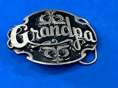 Vintage 1988 Siskiyou Belt Buckle - Tribute to GRANDPA  A-80