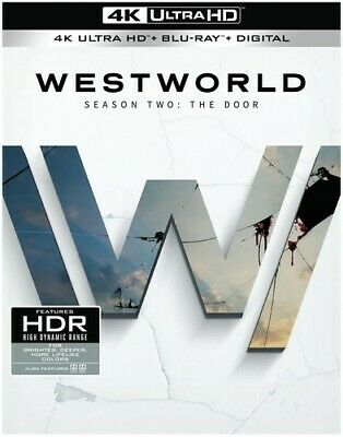 Westworld: Complete Second Season [New 4K Ultra HD] With Blu-Ray, 4K Mastering