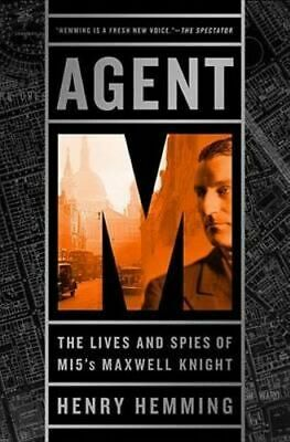 NEW Agent M By Henry Hemming Hardcover Free Shipping