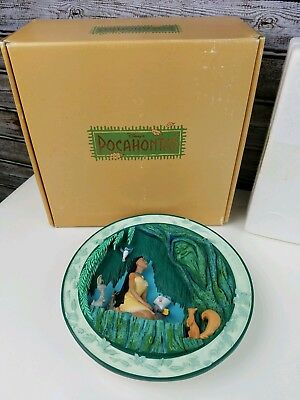 Pocahontas Grandmother Willow 3D Plate Limited Edition - in Box with Stand
